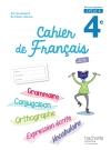 Cahier de français cycle 4 / 4e - éd. 2017