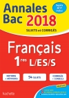 Annales Bac 2018 Français 1ères