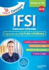 Objectif Concours Les annales culture générale IFSI Concours 2018