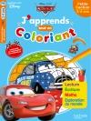 Cars J'apprends tout en coloriant PS