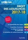 Top'Actuel Droit des assurances 2017-2018