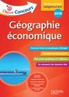 Objectif Concours Géographie Économique Cat A et B 2018