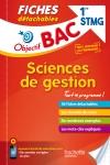 Objectif Bac Fiches détachables Sciences de gestion 1ère STMG