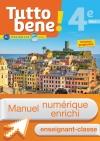 Manuel numérique Tutto bene! italien cycle 4 / 4e LV2 - Licence enseignant-classe - éd. 2017