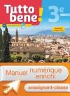 Manuel numérique Tutto bene! italien cycle 4 / 3e LV2 - Licence enseignant-classe - éd. 2017