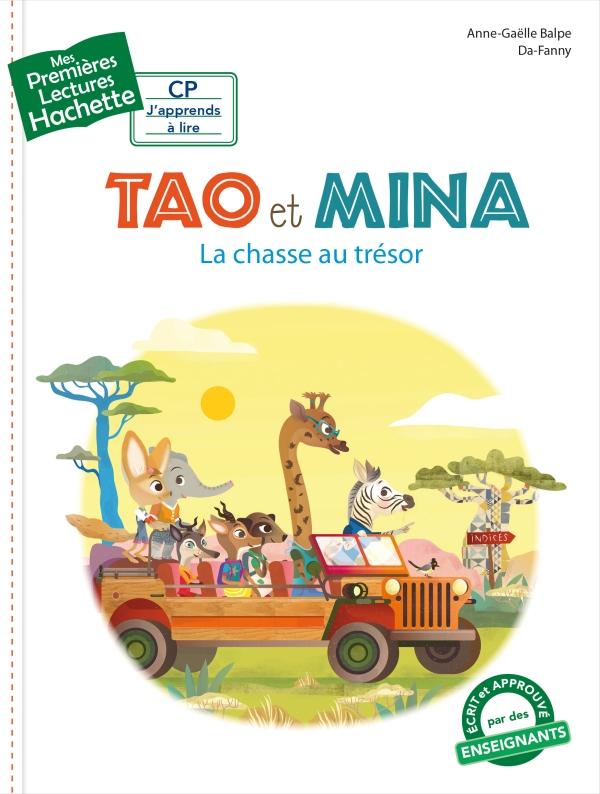 1?res lectures (CP1) Tao et Mina : La chasse au tr?sor