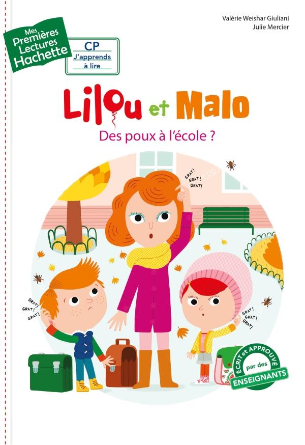 Premières lectures CP1 Lilou et Malo - Des poux à l'école ?