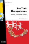 Les Trois mousquetaires - Tome 2 + CD Audio MP3