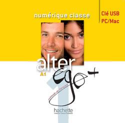 Alter Ego + 1 : Manuel numérique interactif pour enseignant (clé USB)