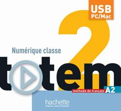 Totem 2 : Manuel numérique interactif pour l'enseignant (clé USB)
