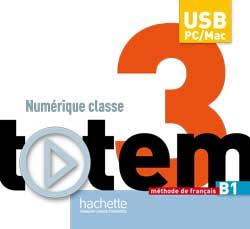 Totem 3 - Manuel numérique classe sur clé USB