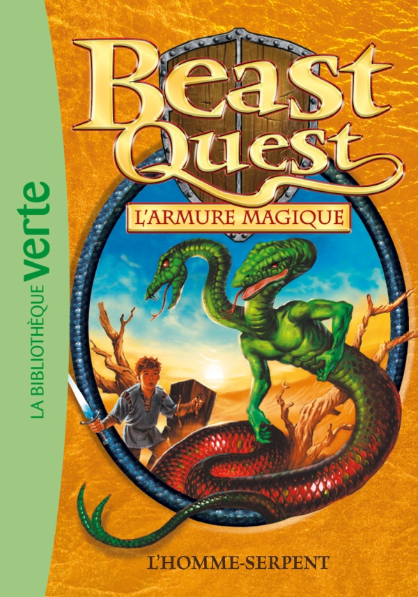 Beast Quest 12 - L'homme-serpent