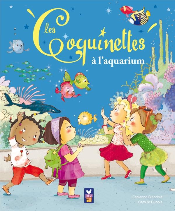 Les coquinettes à l'aquarium