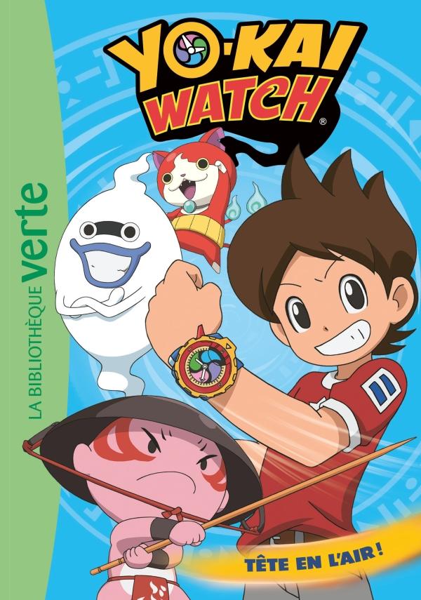 Yo-Kai Watch 08 - Tête en l'air !