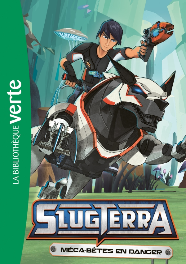 Slugterra 10 - Méca-bêtes en danger
