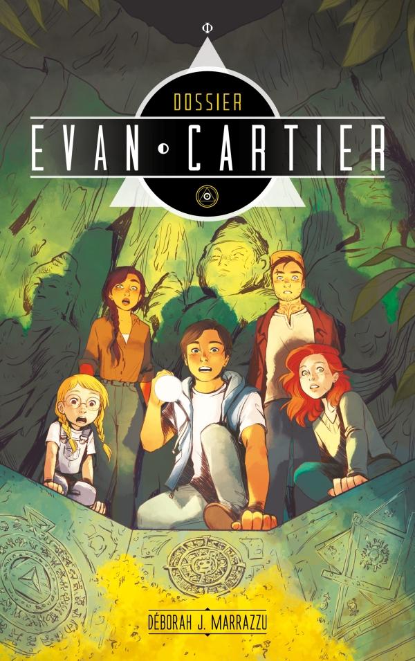 Dossier Evan Cartier - Tome 2 - Cité secrète