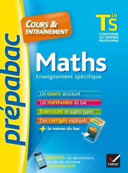 Maths Tle S enseignement sp�cifique - Pr�pabac Cours & entra�nement