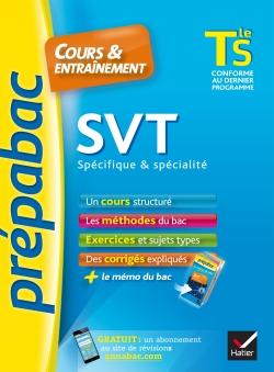 SVT Tle S sp�cifique & sp�cialit� - Pr�pabac Cours & entra�nement
