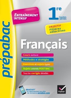 Fran�ais 1re toutes s�ries - Pr�pabac Entra�nement intensif