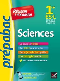 Sciences 1re ES, L - Pr�pabac R�ussir l'examen
