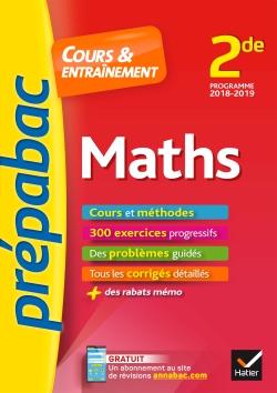 Maths 2de - Pr�pabac Cours & entra�nement