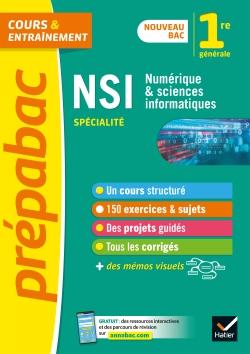 Num�rique et Sciences informatiques 1re (NSI) - Pr�pabac