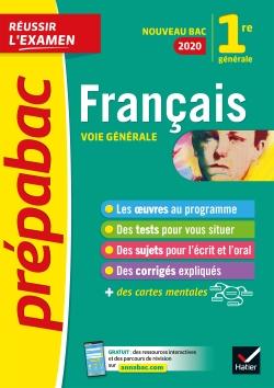 Fran�ais 1re g�n�rale Bac 2020