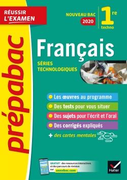 Fran�ais 1re technologique  Bac 2020