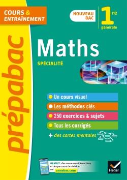 Maths 1re (sp�cialit�) - Pr�pabac Cours & entra�nement