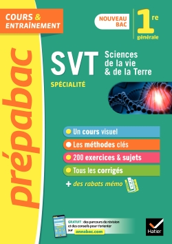 SVT 1re (sp�cialit�) - Pr�pabac Cours & entra�nement