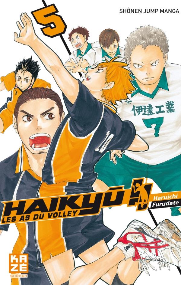 Haikyu !! - Les As du volley T05