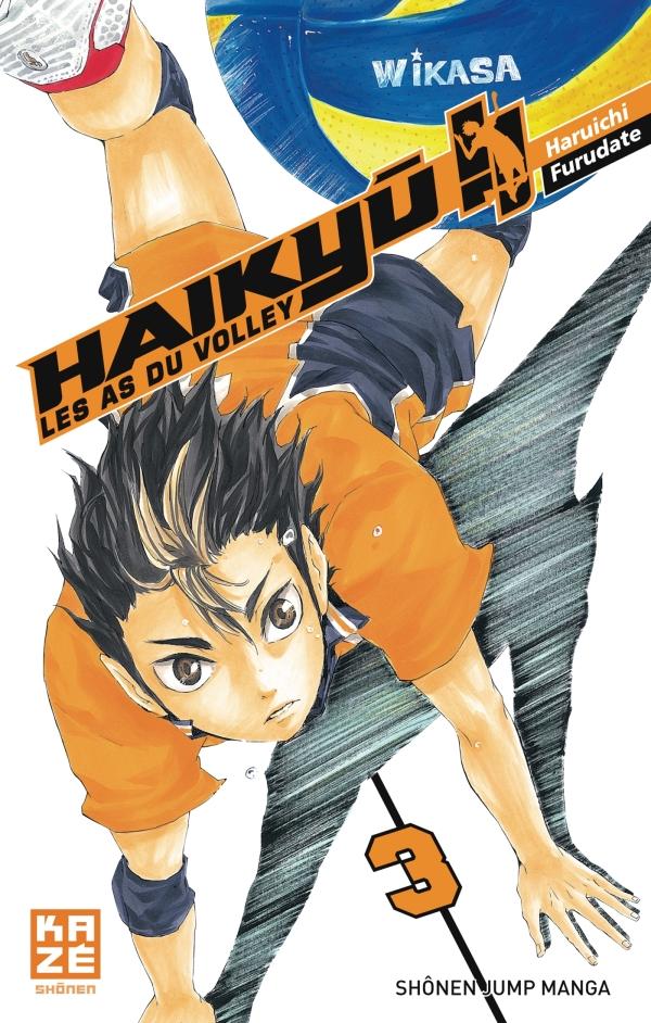 Haikyu !! - Les As du volley T03