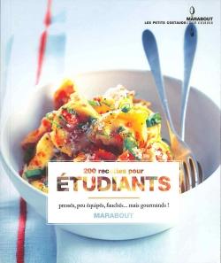 200 recettes pour étudiant par COLLECTIF
