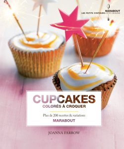 Cupcakes colorés à croquer par JOANNA FARROW