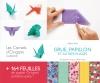 carnet origami Grue, Papillon