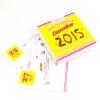Mon calendrier Carambar 2015