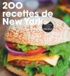 200 recettes de à New York