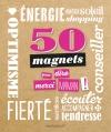 50 Magnets Merci maman !