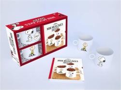 Mini Mug Cakes Snoopy