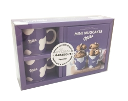 Mini mugcake Milka 2 tasses par COLLECTIF
