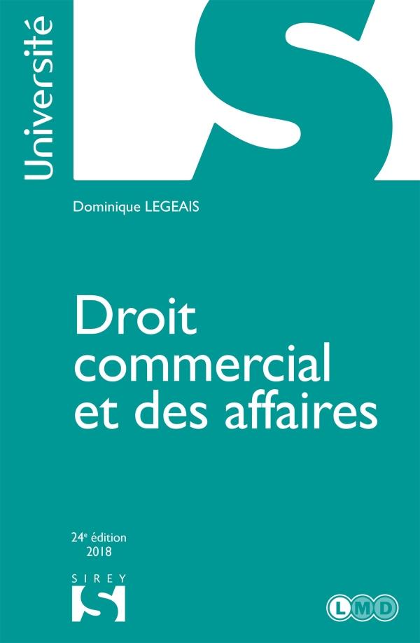 Droit commercial et des affaires