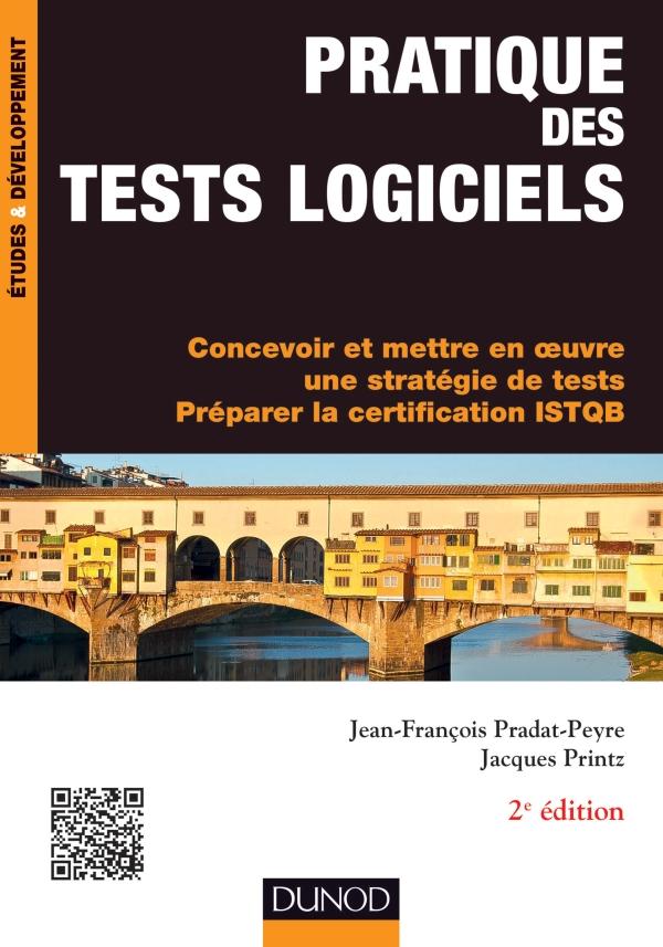 couverture du livre Pratique des tests logiciels