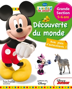 Mickey Découverte du monde Grande Section