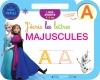 Reine des Neiges Ardoise J'écris les lettres majuscules (3-6 ans)