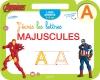 Ardoise Avengers J'écris les lettres majuscules