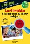 Les 4 Invisibles à la poursuite du voleur de bijoux