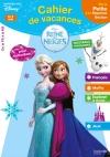 Cahier de vacances la Reine des Neiges - de la PS à la MS