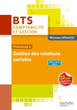 P4 Gestion des relations sociales BTS1 CG - Livre élève - Éd. 2016