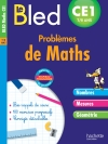 Cahier Bled - Problèmes De Maths Ce1
