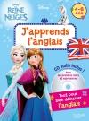 J'apprends l'anglais avec la Reine des neiges 4-6 ans